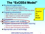 the exceed model