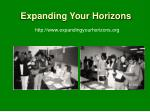 expanding your horizons1