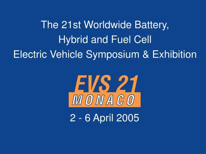 The 21st Worldwide Battery,
