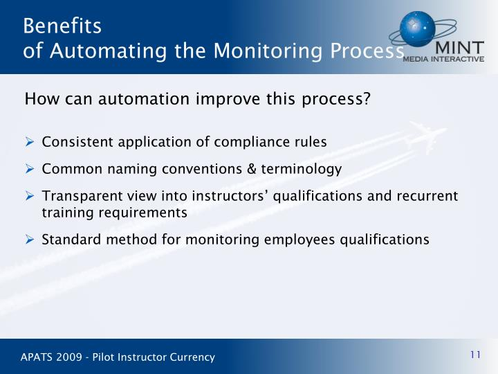 How can automation improve this process?