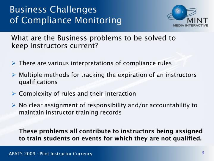 There are various interpretations of compliance rules
