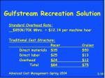 gulfstream recreation solution