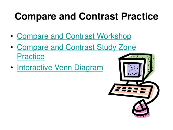 Compare and Contrast Practice
