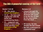 the doj a powerful coming of the lord2