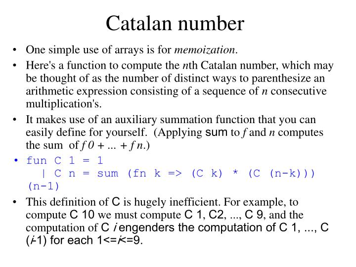 Catalan number