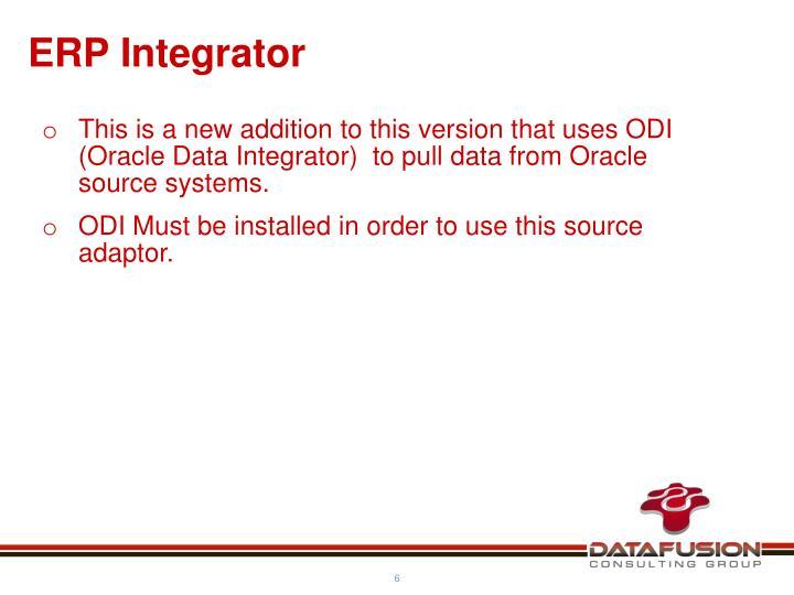 ERP Integrator