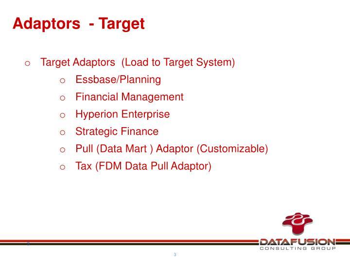 Adaptors  - Target