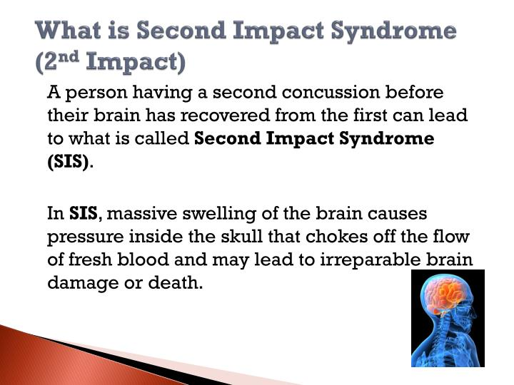 What is Second Impact Syndrome