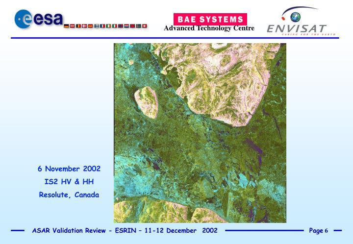 6 November 2002