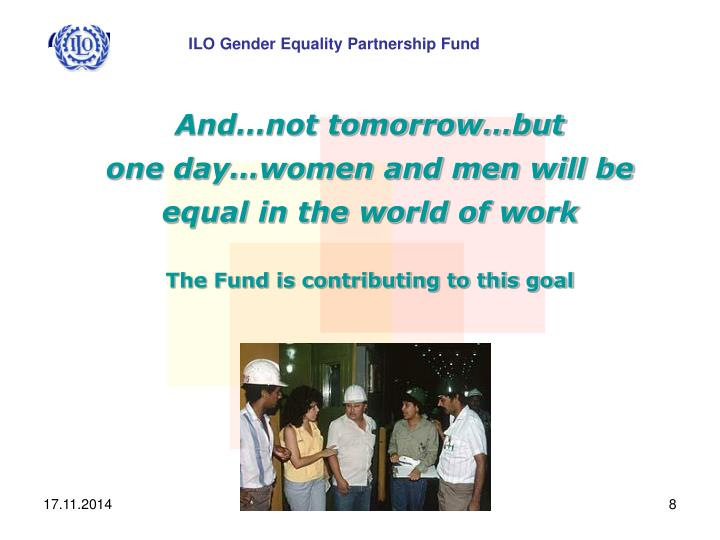 ILO Gender Equality Partnership Fund