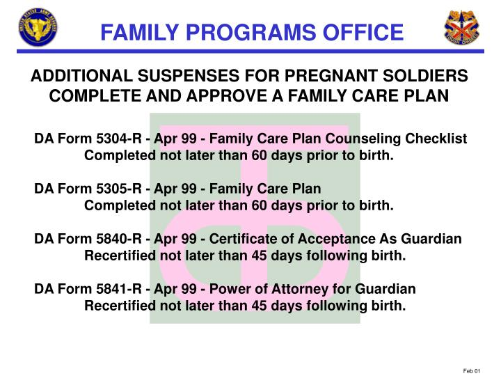 ADDITIONAL SUSPENSES FOR PREGNANT SOLDIERS