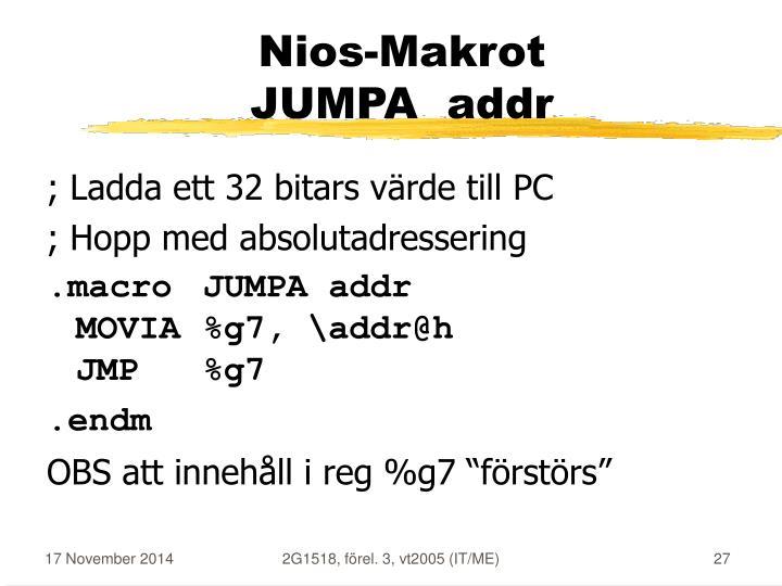 Nios-Makrot