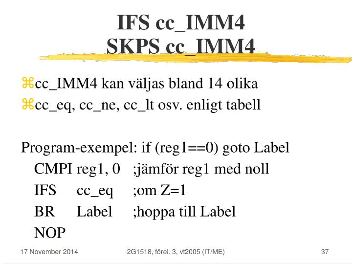 IFS cc_IMM4