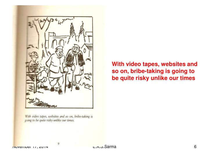 With video tapes, websites and
