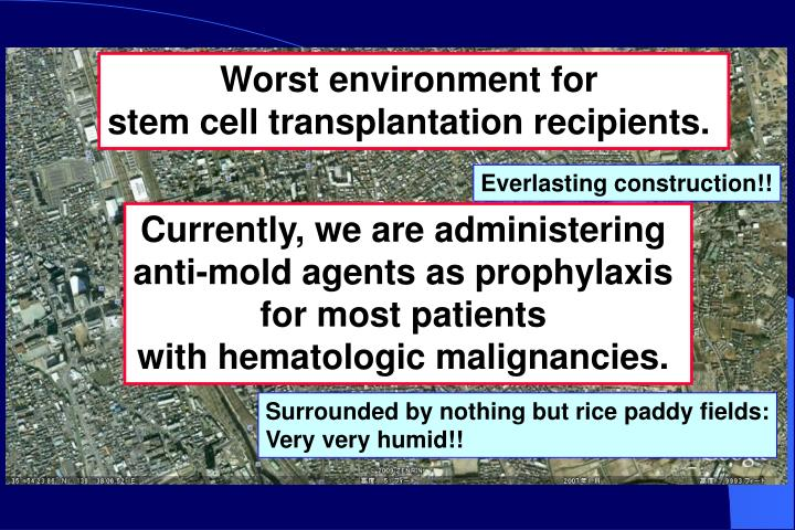 Worst environment for