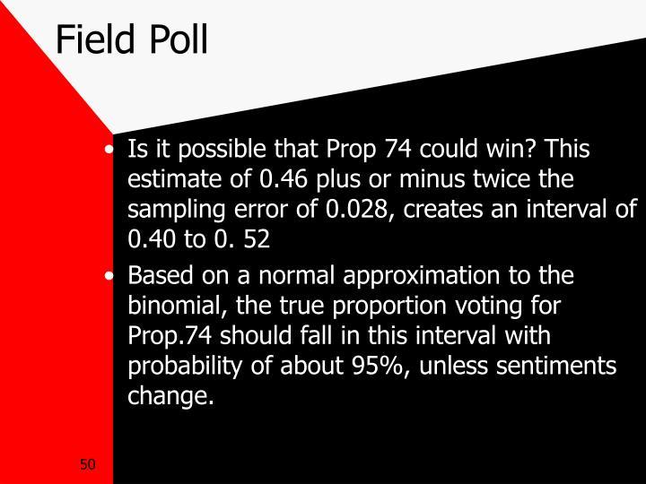 Field Poll