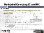 method of detecting ic and nc1