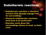 endothermic reactions1