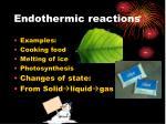 endothermic reactions2