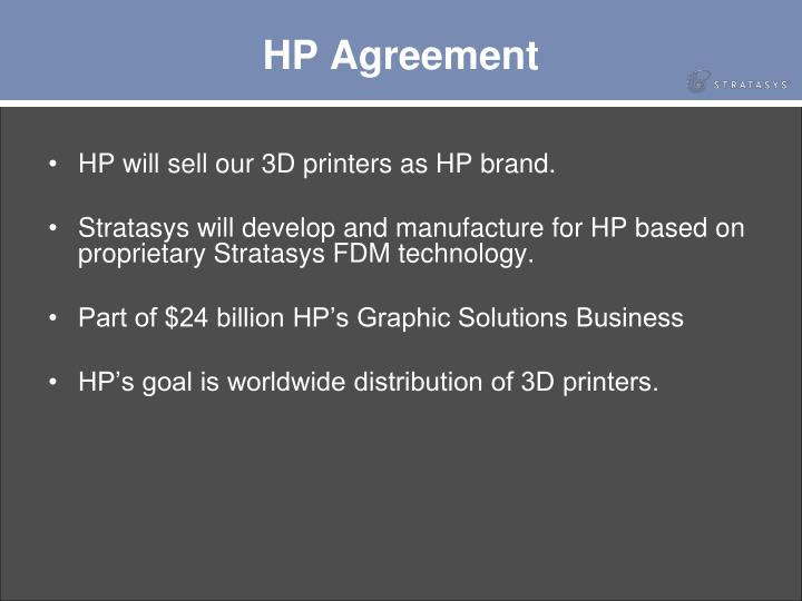 HP Agreement