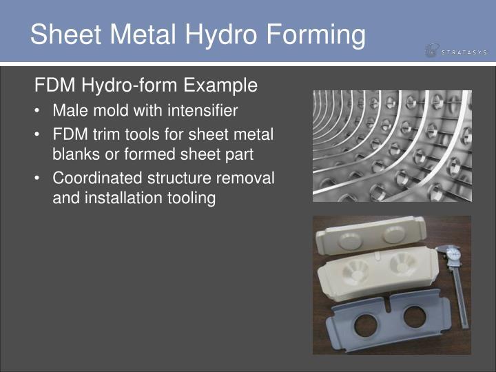 Sheet Metal Hydro Forming