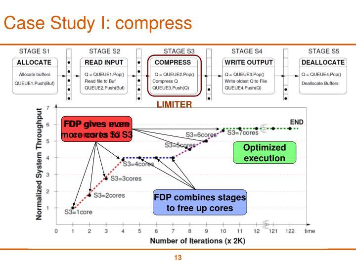 Case Study I: compress