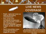 live news coverage