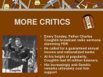 more critics