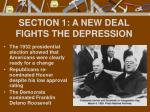 section 1 a new deal fights the depression1