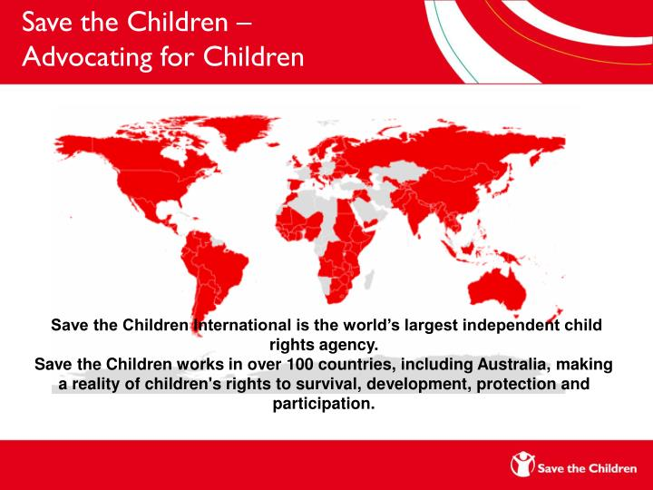 Save the Children –