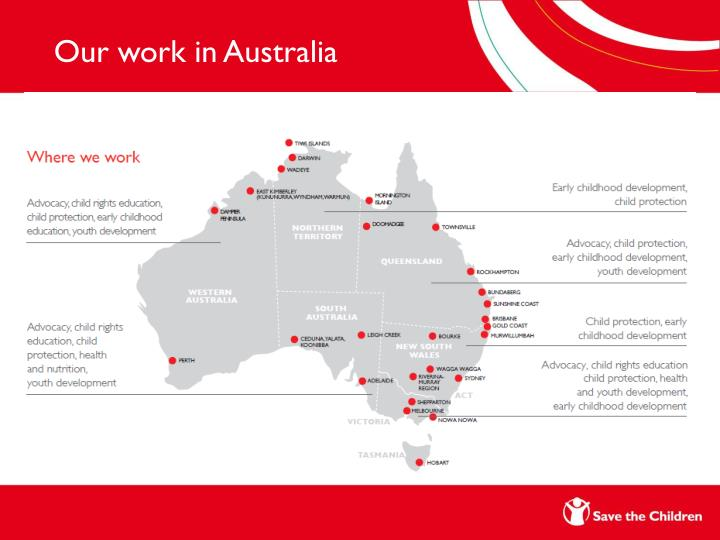 Our work in Australia