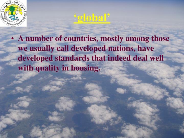 'global'