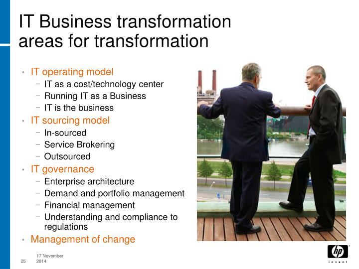 IT Business transformation
