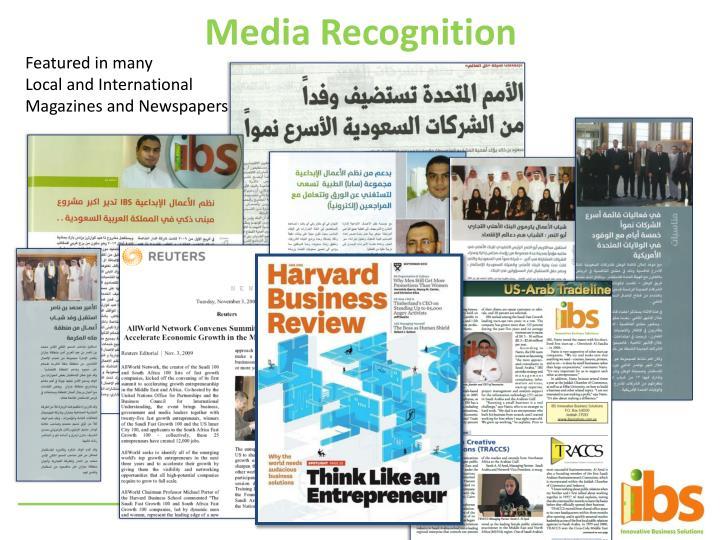 Media Recognition