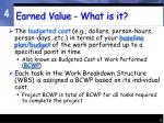 earned value what is it2