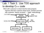 lab 1 task 3 use tdd approach to develop c code