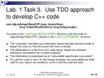 lab 1 task 3 use tdd approach to develop c code1