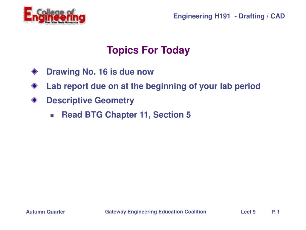 topics for today 5