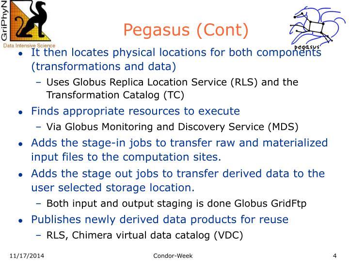 Pegasus (Cont)