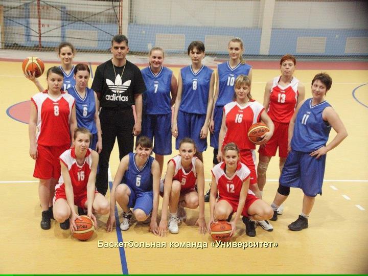 Баскетбольная команда «Университет»