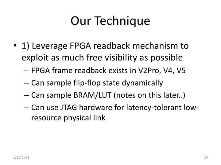 Our Technique