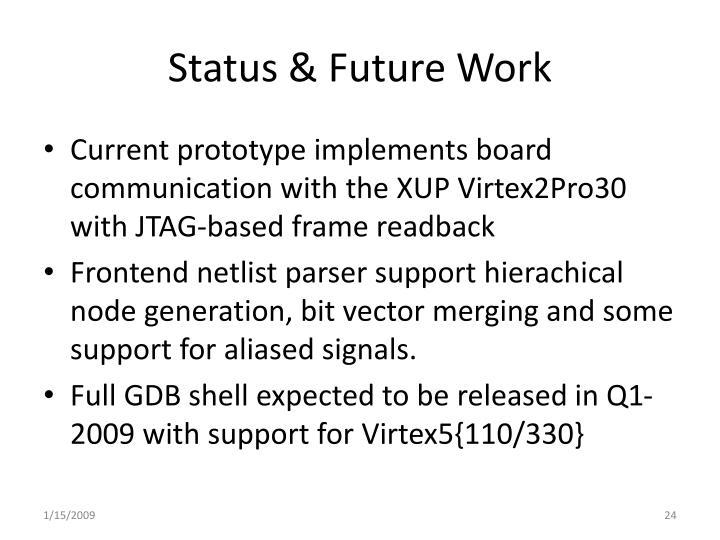 Status & Future Work