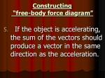 constructing free body force diagram5