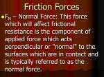 friction forces1