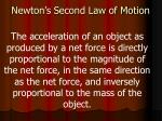 newton s second law of motion1