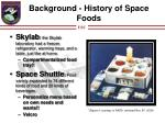 background history of space foods3