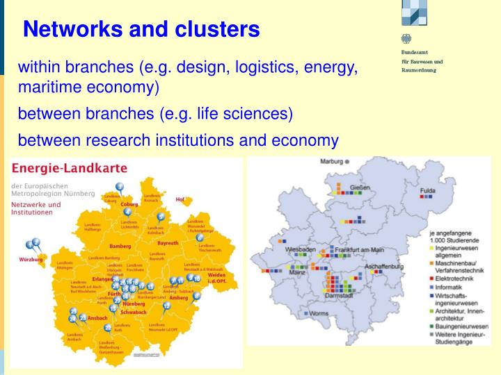 Networks and clusters