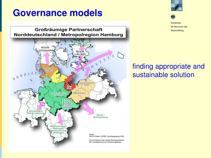Governance models