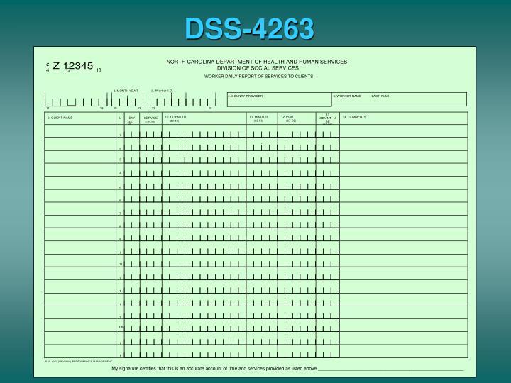 DSS-4263