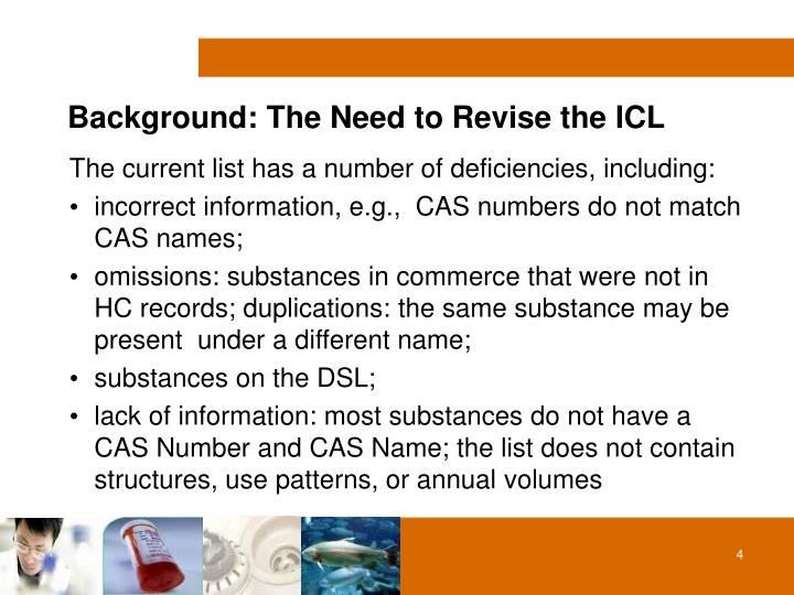 Background: The Need to Revise the ICL